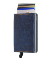 Load image into Gallery viewer, Slimwallet Indigo 5-Titanium
