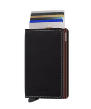 Load image into Gallery viewer, SECRID Slimwallet Saffiano Brown