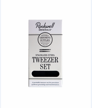 Load image into Gallery viewer, Rockwell Razors Tweezer Set