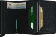 Load image into Gallery viewer, SECRID Slimwallet Veg Black-Black