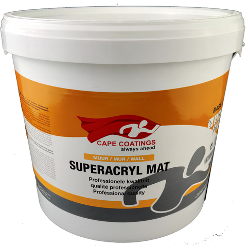 Cape Superacryl Mat 10L