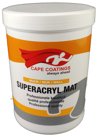 Cape Superacryl Mat 1L