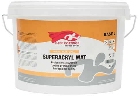 Cape Superacryl Mat 2,5L