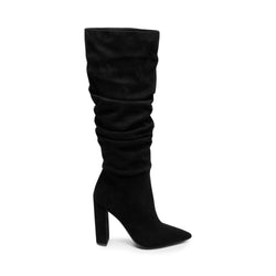 SLOUCH BOOT BLACK SUEDE