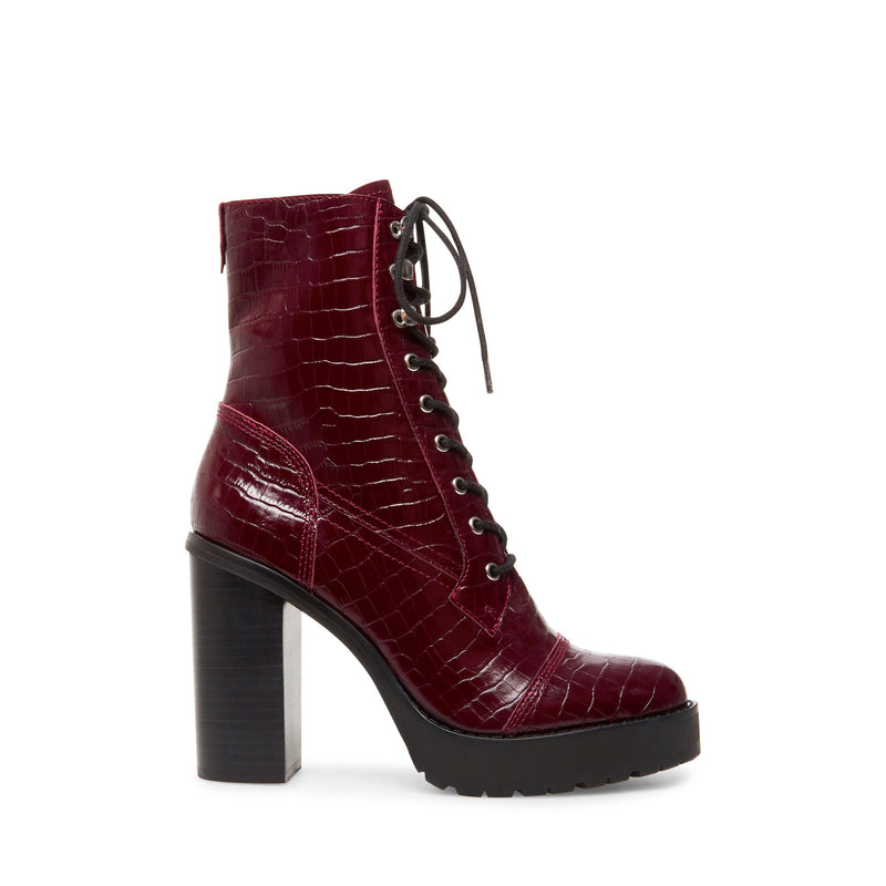 LISALOVE BORDEAUX CROCO