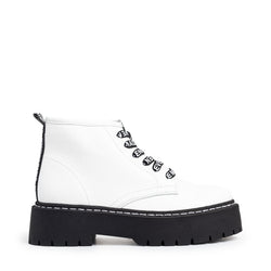 VLAIS WHITE LEATHER