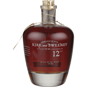 Kirk & Sweeney 12YR Dominican Rum 750ML - Joe's Liquor & Delivery I Orlando's Premier Online Service | International Drive