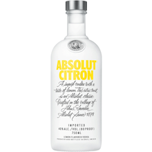 Absolut Citron 750ML - Joe's Liquor & Delivery I Orlando's Premier Online Service | International Drive