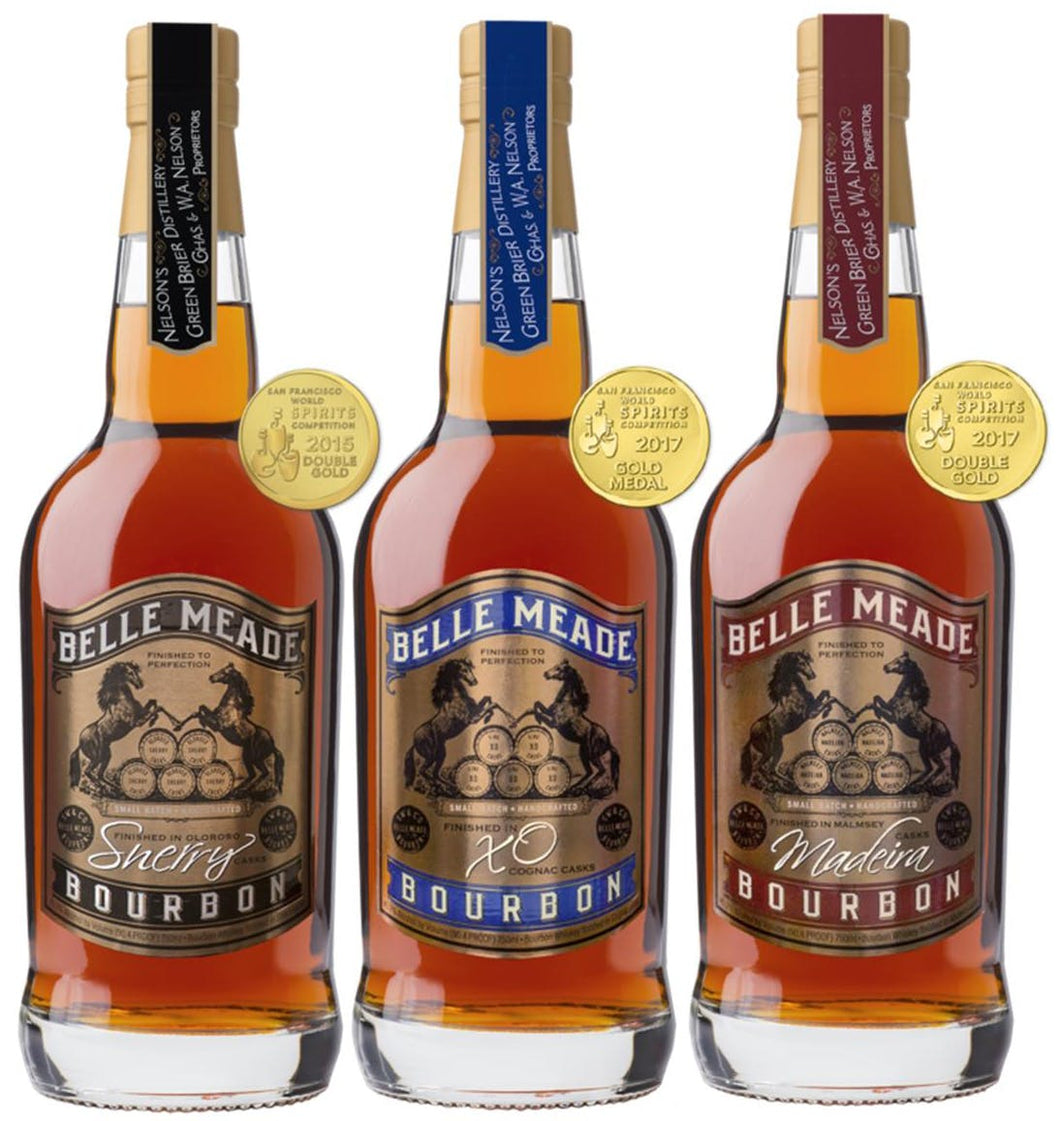 Belle Meade Bourbon 3 Pack - Joe's Liquor & Delivery I Orlando's Premier Online Service | International Drive