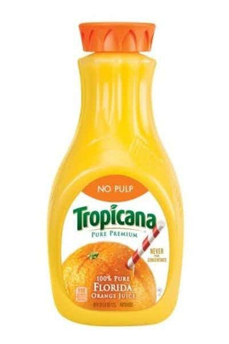 Tropicana Orange Juice No Pulp 12OZ - Joe's Liquor & Delivery I Orlando's Premier Online Service | International Drive