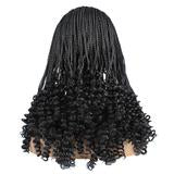 Ama- Knotless Box Braids  Lace Wig