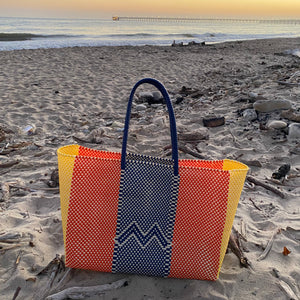 Modulare bags are a collection of reusable totes made from recycled or native natural material from small producers and artisans around the world. Customized and designed to incorporate old world craft into our modern everyday wardrobe.