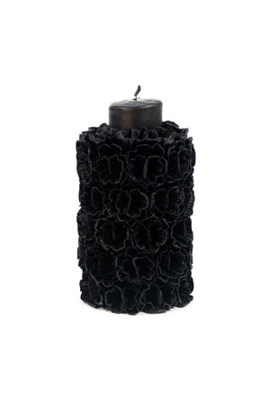 Open image in slideshow, Embellished Pillar Candle