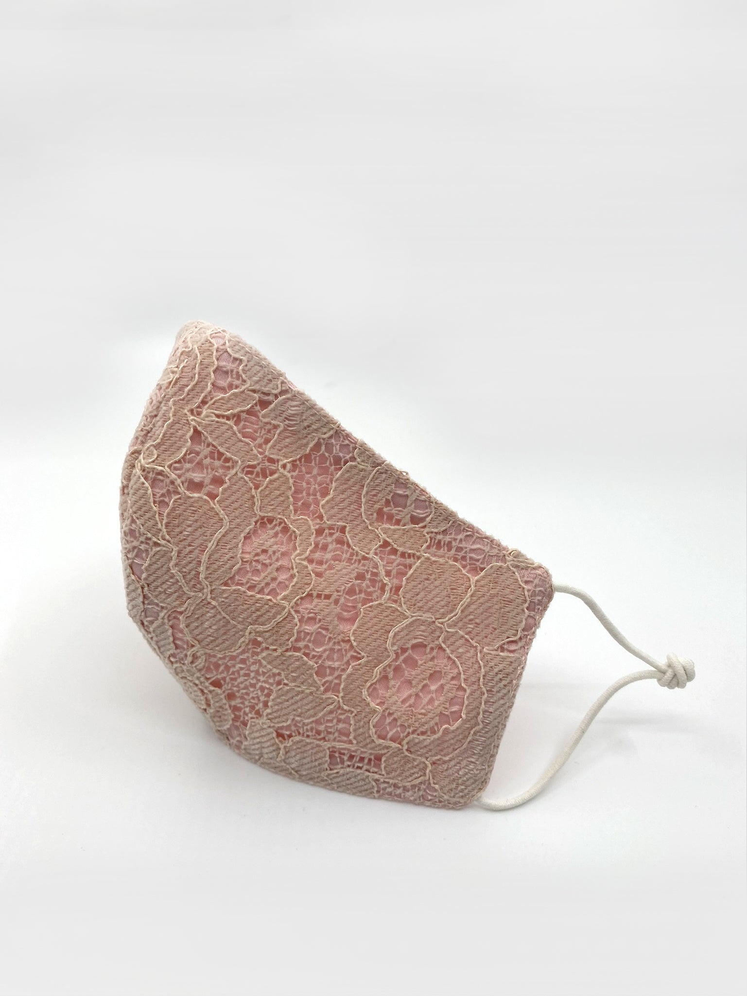 Japanese Pink Lace Mask