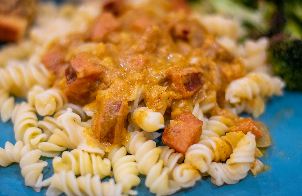 Fall Pasta with Pumpkin and Sausage Recipe