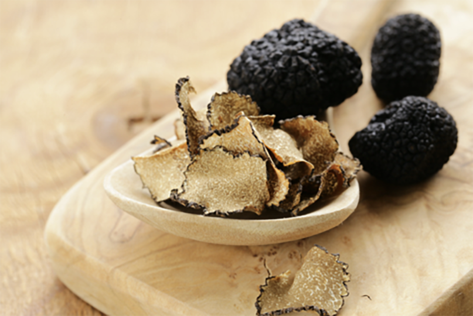cooking with mushrooms and truffles