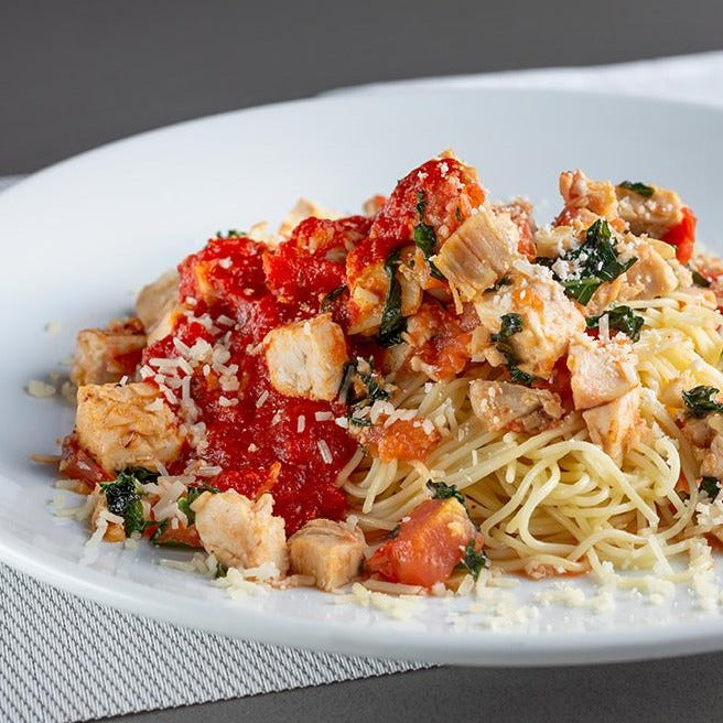 Dagostino Angel Hair Capellini with Chicken and Tomatoes