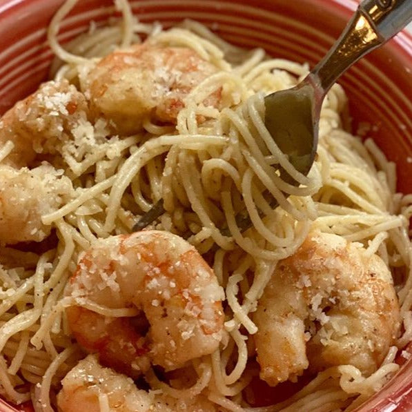 Dagostino Vermicelli Pasta with Lemon Butter Shrimp