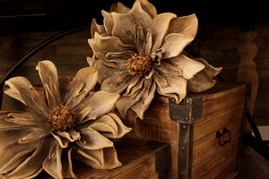 Brown/Beige Color Foam Flower