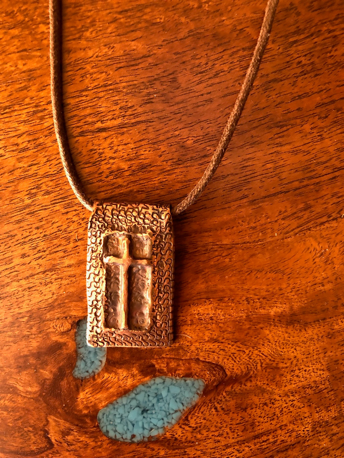 Copper Cross Necklace Vicki Carstens109