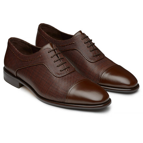 Blucher tipo Oxford Combinado