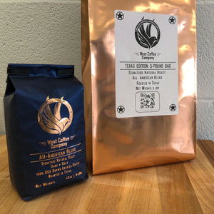 Texas Edition 5-Pound Bag - West Coffee Company