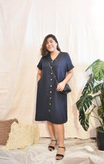 Load image into Gallery viewer, Plus Size Midi Dress