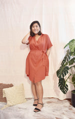 Load image into Gallery viewer, Plus Size Oversized Tshirt Dress