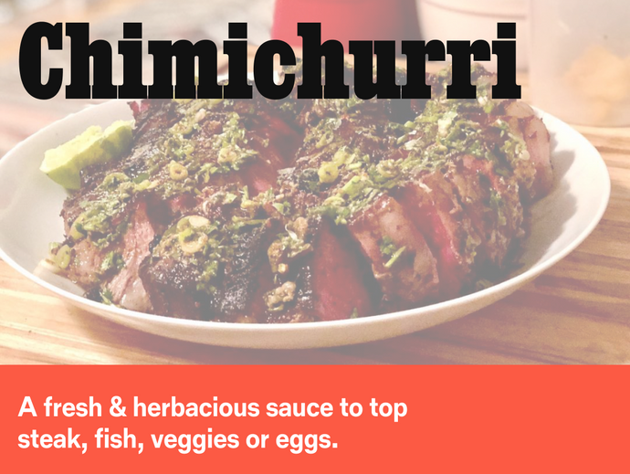 Chimichurri‏‏‎ ‎- The Perfect Condiment