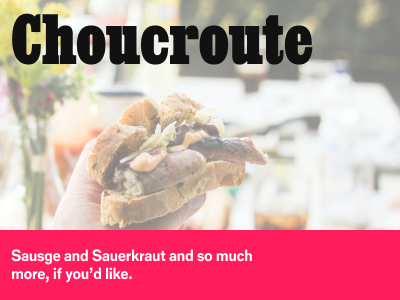 Choucroute - A Grand Meal to Feed a Crowd