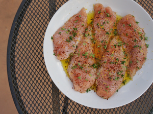 Chicken Breast, Boneless Skinless - 1 lb