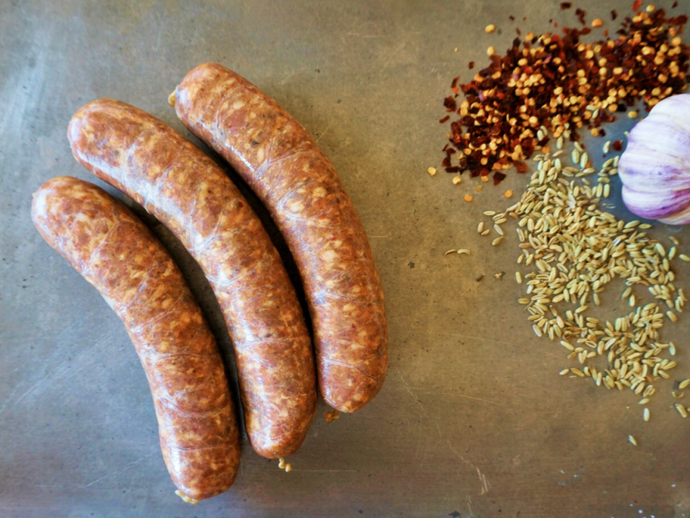 Hot Italian Chicken Sausage