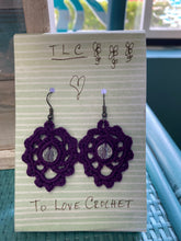 Load image into Gallery viewer, Boho Crocheted Earrings