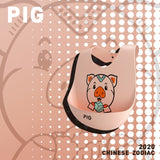 Baby Waterproof Silicone Bibs