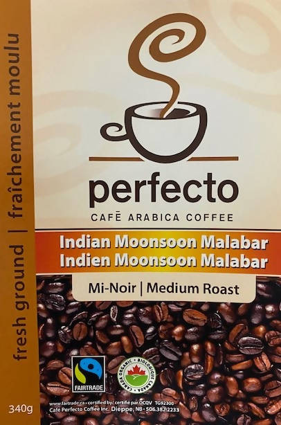 Indian Moonsoon Malabar Medium Roast (Ground) Intensity 8.5