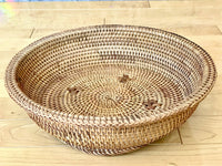 Rattan Tray with Patterning