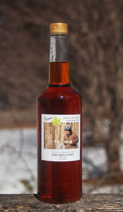 Maple syrup / sirop d'érable - 750ml