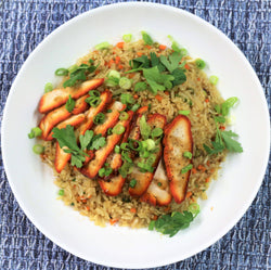 CHAR SIU CHICKEN FRIED RICE