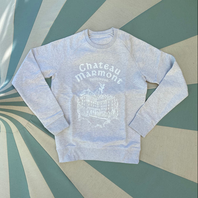 Chateau Marmont Cream Heather Sweatshirt