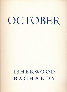 October by Isherwood Bachardy