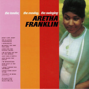 Vinyl LP: Aretha Franklin - the tender, the moving, the swinging