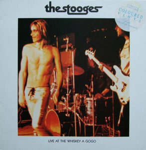 Vinyl LP: The Stooges-Live at the Whiskey a Gogo (Pink)