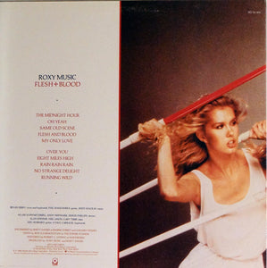 Vinyl LP: Roxy Music-Flesh + Blood (signed)