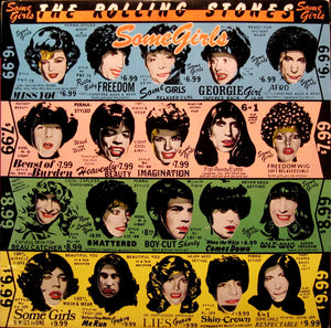 Vinyl LP: The Rolling Stones-Some Girls
