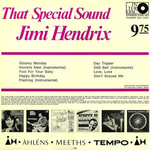 Vinyl LP: Jimi Hendrix & Curtis Knight - That Special Sound