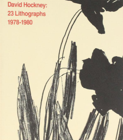 23 Lithographs 1978-80 by David Hockney (signed)