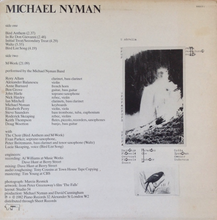Load image into Gallery viewer, Vinyl LP: Michael Nyman-Michael Nyman