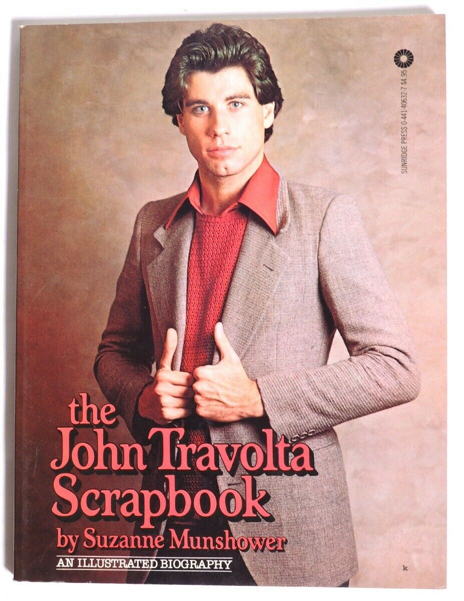 The John Travolta Scrapbook by Suzanne Munshower