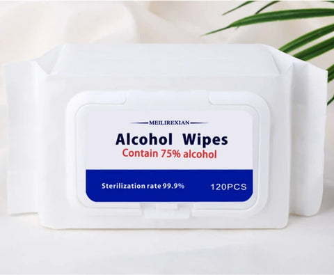 Aintibacterial Disinfect Wipes With 75%Alcohol 120PC / Pack