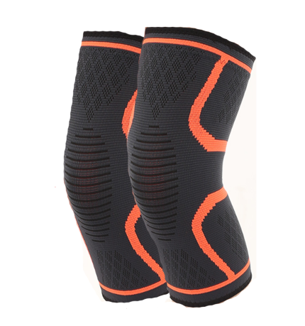 2 Pack Knee Compression Sleeve | Knee Brace for Men & Women | Knee Support for Running, Basketball, Weightlifting, Gym, Workout, Sports | Joint Pain Relief - Please Check Sizing Chart